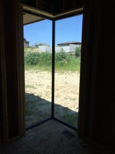 Fiberglass Corner Window Construction Interior