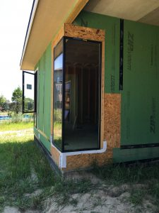 Fiberglass Corner Window Construction 02