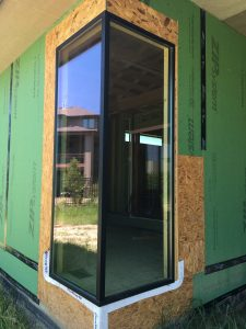 Fiberglass Corner Window Construction