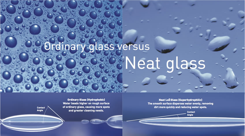 Ordinary Glass vs Neat Glass Upgrades