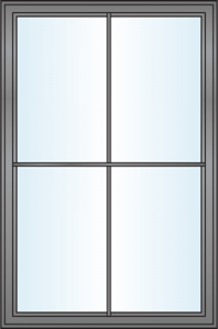 Window Grille Styles - Modern Colonial