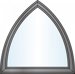 Custom Window Shapes - Cathedral