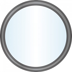 Custom Window Shapes - Circle