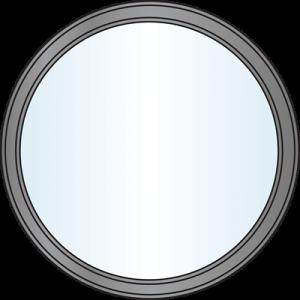 Custom Window Shapes - Circle