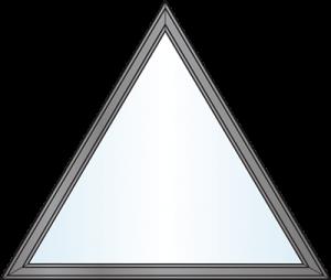 Custom Window Shapes - equal triangle