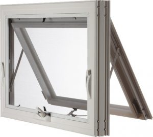 Fiberglass Awning Window, Open