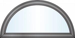 Custom Window Shapes - Half Round
