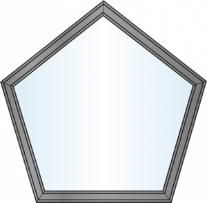 Custom Window Shapes - Pentagon