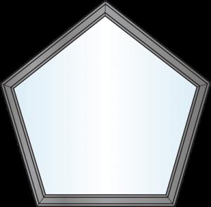 Custom Window Shapes - Pentagon