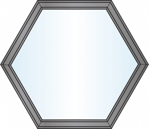 Custom Window Shapes - Hexagon