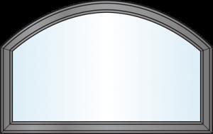Custom Window Shapes - modified eyebrow