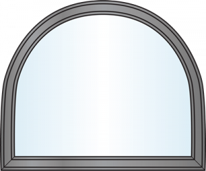 Custom Window Shapes - Modified Half Round