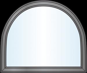 Custom Window Shapes - Modified Half Round