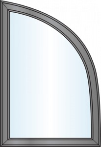 Custom Window Shapes - Modified Quarter Round