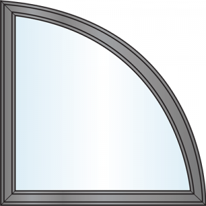 Custom Window Shapes - Quarter Round