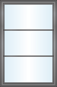 Window Grille Styles - Equal
