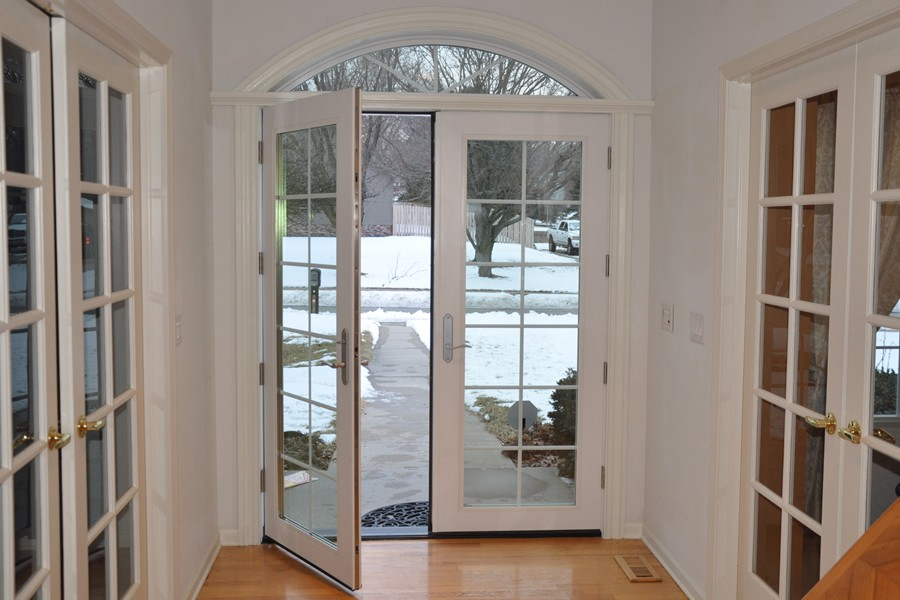 Enerlux windows doors fiberglass entry french doors for Entry door with window that opens